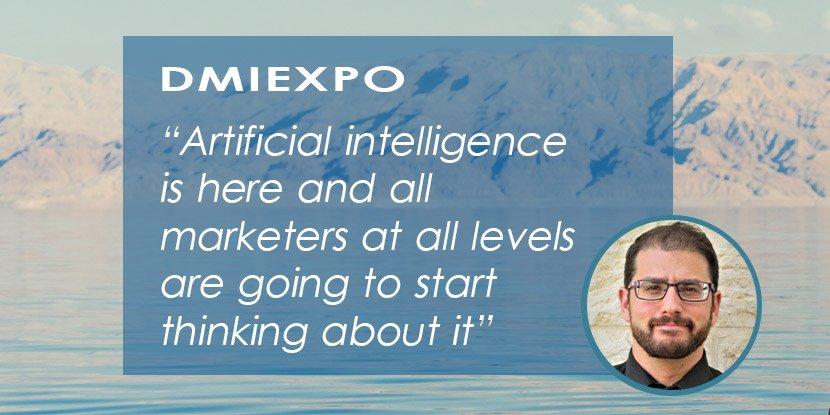 DMIEXPO Speaker's Interview: Mordy Oberstein