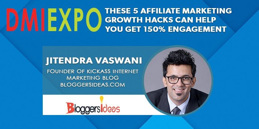 Jitendra Vaswani Lecture - Digital & Affiliate Marketing International Expo