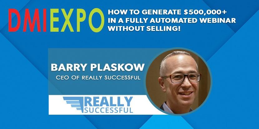 Barry Plaskow Lecture - Digital & Affiliate Marketing International Expo