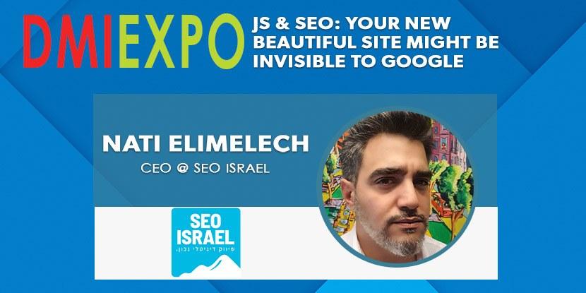 Nati Elimelech Lecture - Digital & Affiliate Marketing International Expo